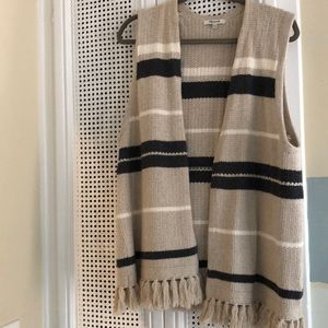 Madewell knit vest